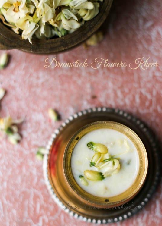 Murungai-poo-payasam or Drumstick-Flowers Kheer | FoodieAdamCookieEve